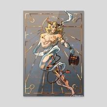 The Taurus - Acrylic by Cynniarts