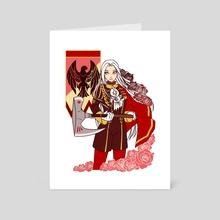 Edelgard - Art Card by jqvarr