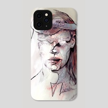 Snake face - Phone Case by Pablo Puentes