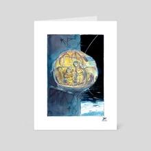 Inktober 2019_25/31_Tasty - Art Card by Steven Wen