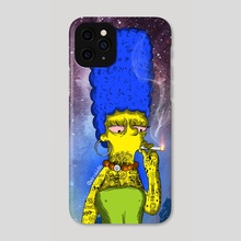 Marge Stoner - Phone Case by Ephrem Rokk