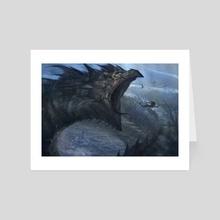 Leviathan - Art Card by Jesse Keisala