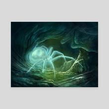 Spectral Spider - Canvas by Gabriel Cassata