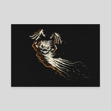 Halloween Ghost - Canvas by Viktor Sukhochev
