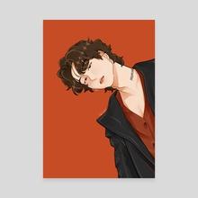 Rockstar Yoongi - Canvas by Hanabi Bloom