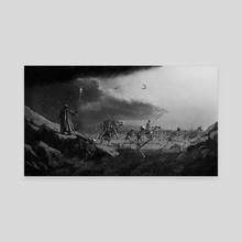March of the Necromancer - Canvas by Sady M. Izé