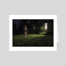 Ghost - Art Card by Kate Schneider