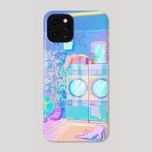Laundry Blues - Phone Case by Elora Pautrat