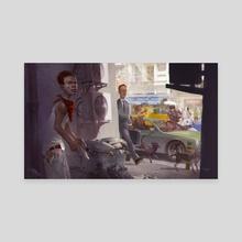 Just Before Things go Wrong - Canvas by Svetlin Velinov