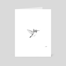 Hummingbird - Art Card by Chris Cerrato