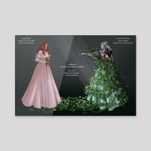 ivy - Acrylic by martisun