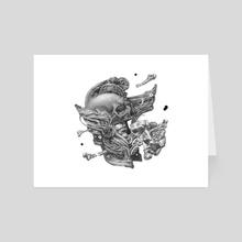 Shell - Art Card by Peter Chinovsky