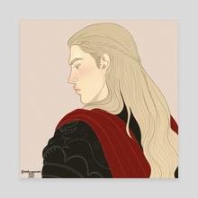 Rhaegar's back! - Canvas by chillyravenart