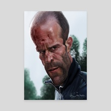 Jason Statham - Canvas by Alexander Novoseltsev