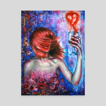 Heartbreaker - Canvas by Olesya Umantsiva