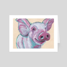 Babe with the Power - Art Card by Deborah Rose Guterbock