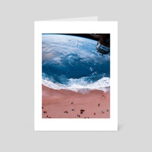 Oceanearth - Art Card by Ajeng  Angistya