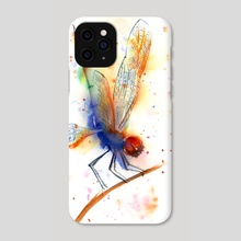 Dragonfly - Phone Case by Olga Shefranov (PaintisPassion)