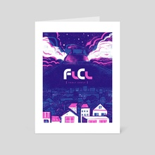FLCL - Art Card by Maria Ku