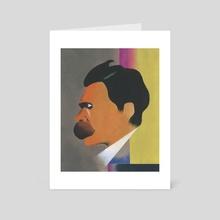Nietzsche - Art Card by hanna something
