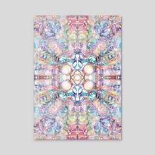 Symmetrical art 3 - Acrylic by Marwa Abdelaal