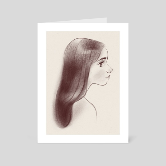 Portrait of a Girl by Jen Bricking