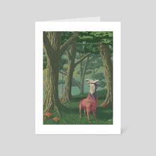 Mushrugo - Art Card by James Lynch