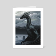 Ring of Dragons - Art Card by Ben Yu