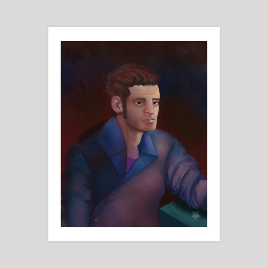 Male Study Portrait by Romansackboy