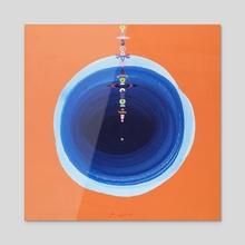 Yantra 6 - Acrylic by Jenny Bhatt
