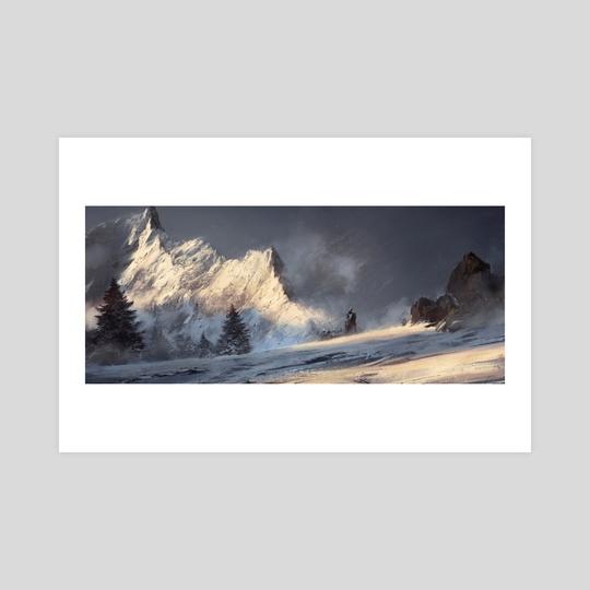 Winter Landscape 2 by Grzegorz Rutkowski
