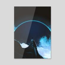 Full Dark - Acrylic by Adam Priester