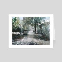 De Ripsstraat, Goirle - Art Card by Martijn de Boer