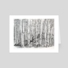 Aspens - Art Card by Mark Molchan