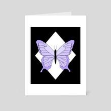 Butterfly / design 20 - Art Card by Emii Emilova