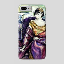Miss Fisher - Phone Case by Alina Mozzherina