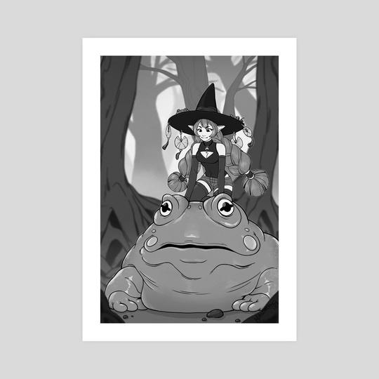 Frog Witch by Bridget Wilson