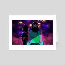 Simple Enough - Art Card by Raina Raina