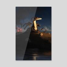 A Day's Work - Acrylic by Maximilian Degen