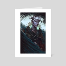 Ibis - The Dragon Prince - Art Card by Lizzart