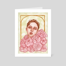 The Fondness of Fortitude - Art Card by Sadie Laine B.