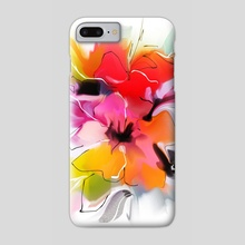 Bunch of flowers. Watercolor  - Phone Case by Tatiana Nikitina
