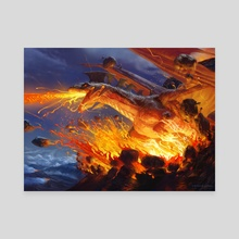 Spawn of Thraxes (promo) - Canvas by Jason Rainville