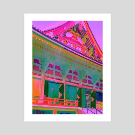 Neon Kaminarimon by DayGlow Japan