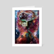 Shapeshifter - Art Card by Louis Dyer