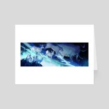 Northern Lights  - Art Card by 欃豷鶜