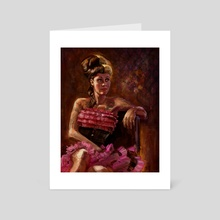 Theresa - Art Card by Aaron White