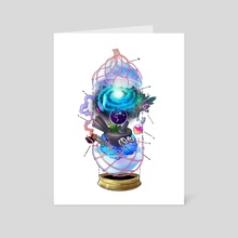 Anatomy: Orb of Scryng  - Art Card by Moe Balinger