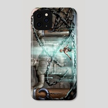 Enslavement - Phone Case by Shaun Kelly