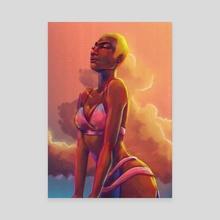 Warm Harmattan - Canvas by Afenyi Arhin